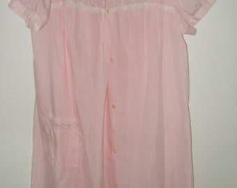 Vintage 70s Komar Nightgown and Robe, Size Average Large