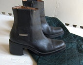 Heeled Harley Davidson Boots