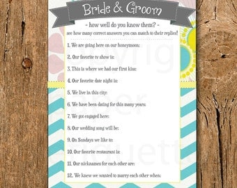 How well do you know the groom printable bridal shower game apps