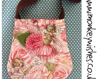 The Girlie Pixie Pouch - girl-sized handbag/purse Custom item - made to order.