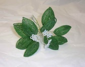 Collectible Handwired Beaded Flower Branch   FREE SHIPPING