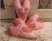Valentine My HEART Strings Bowl Fillers Cross Stitch Design Tucks Glitter Ornies