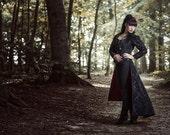 Ready to Ship Sale Long victorian gothic jacket Regina coat