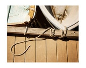Nautical Photography, Boats Photography, brown, rusitc art, gift for him, man cave decor, fishing, New England, beach house decor, geometric