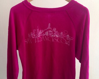 The Vintage Pink San Francisco Sweatshirt