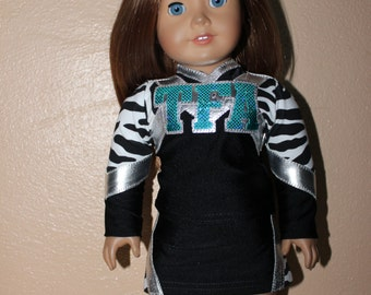 TFA  cheerleader outfit for American Girl Doll