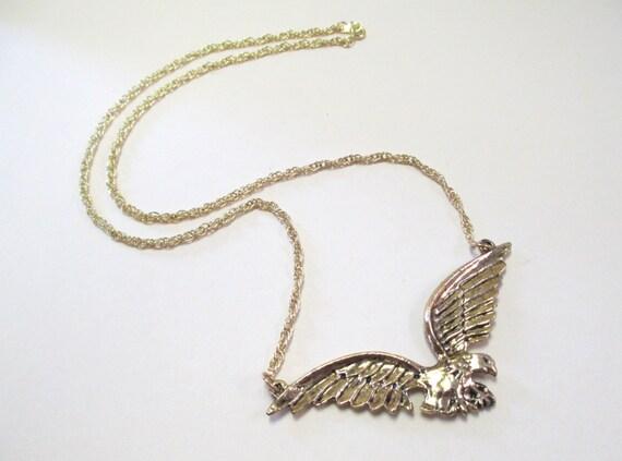 Vintage Eagle Necklace DEADSTOCK