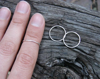 Itty Bitty Sterling Silver Midi Ring