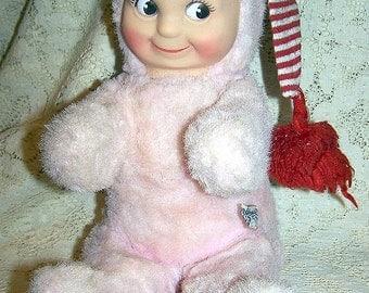 """Kuddle Kewpie  Knickerbocker 10"""" Vintage  Kewpie Doll"""