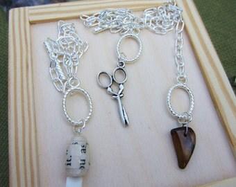 Best friend gift, rock paper scissors friendship bracelets. For 3 best friends. Silver charms. Bffs, besties. Tiger's eye. Perfect gift.