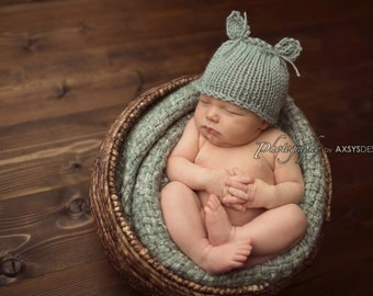 Newborn Hat Boy, Newborn Photo Prop Boy, Newborn Boy Hat, Newborn Animal Hat, Newborn Girl Hat, Newborn Beanie Boy, Newborn Props Boy