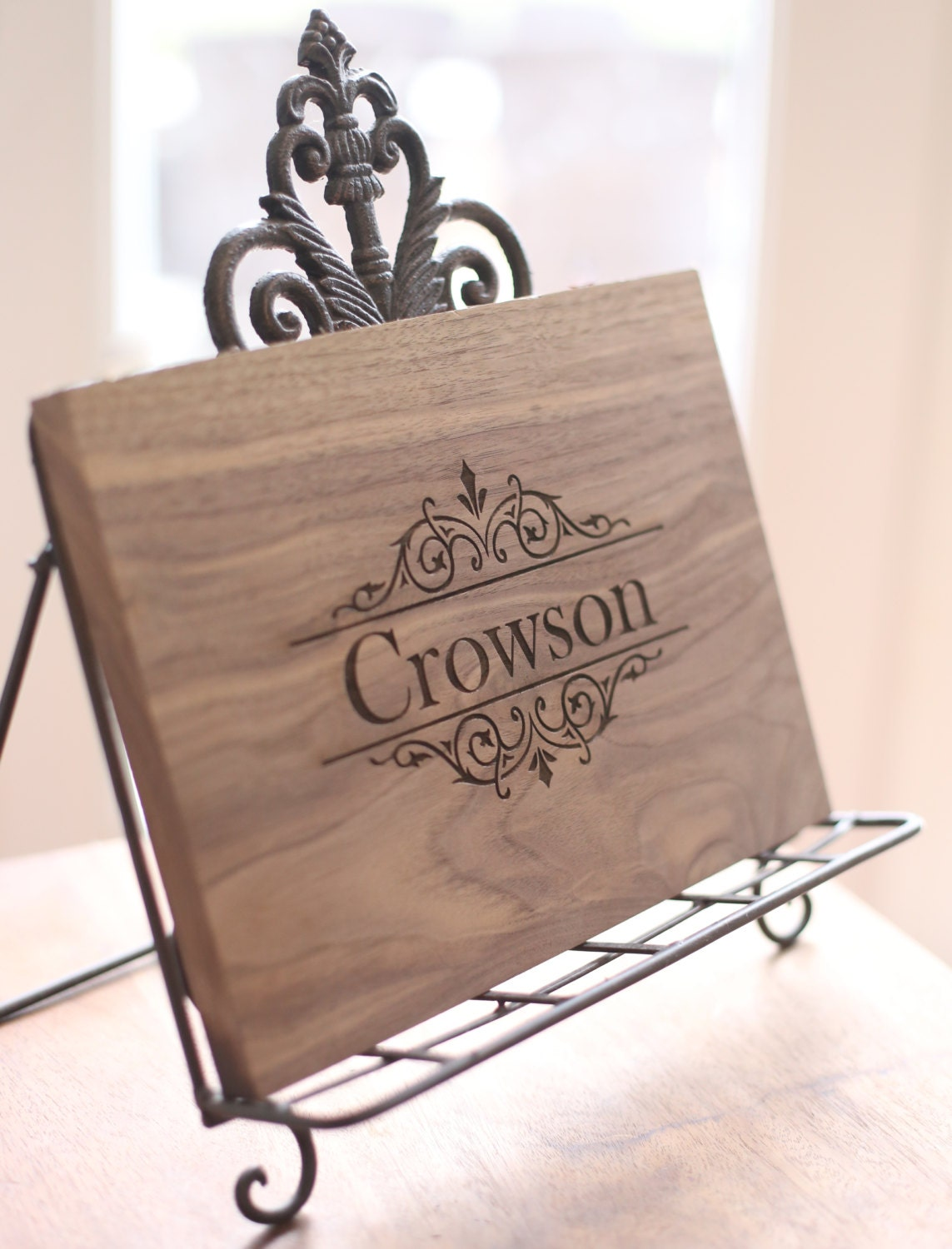 Personalized Cutting Board Engraved Wood Gift By Braggingbags