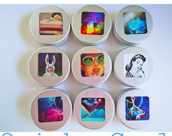 Knitting Tin (just the tin) - QUIRKY COOL SELECTION