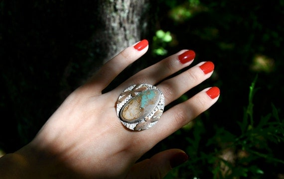The Messenger Turquoise Statement Ring