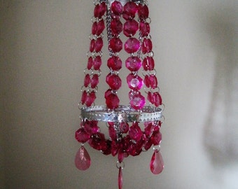 Jem's Spotlight Acrylic Crystal Flush-mount Shade Only MADE TO ORDER