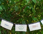 Peace Prayer Flag