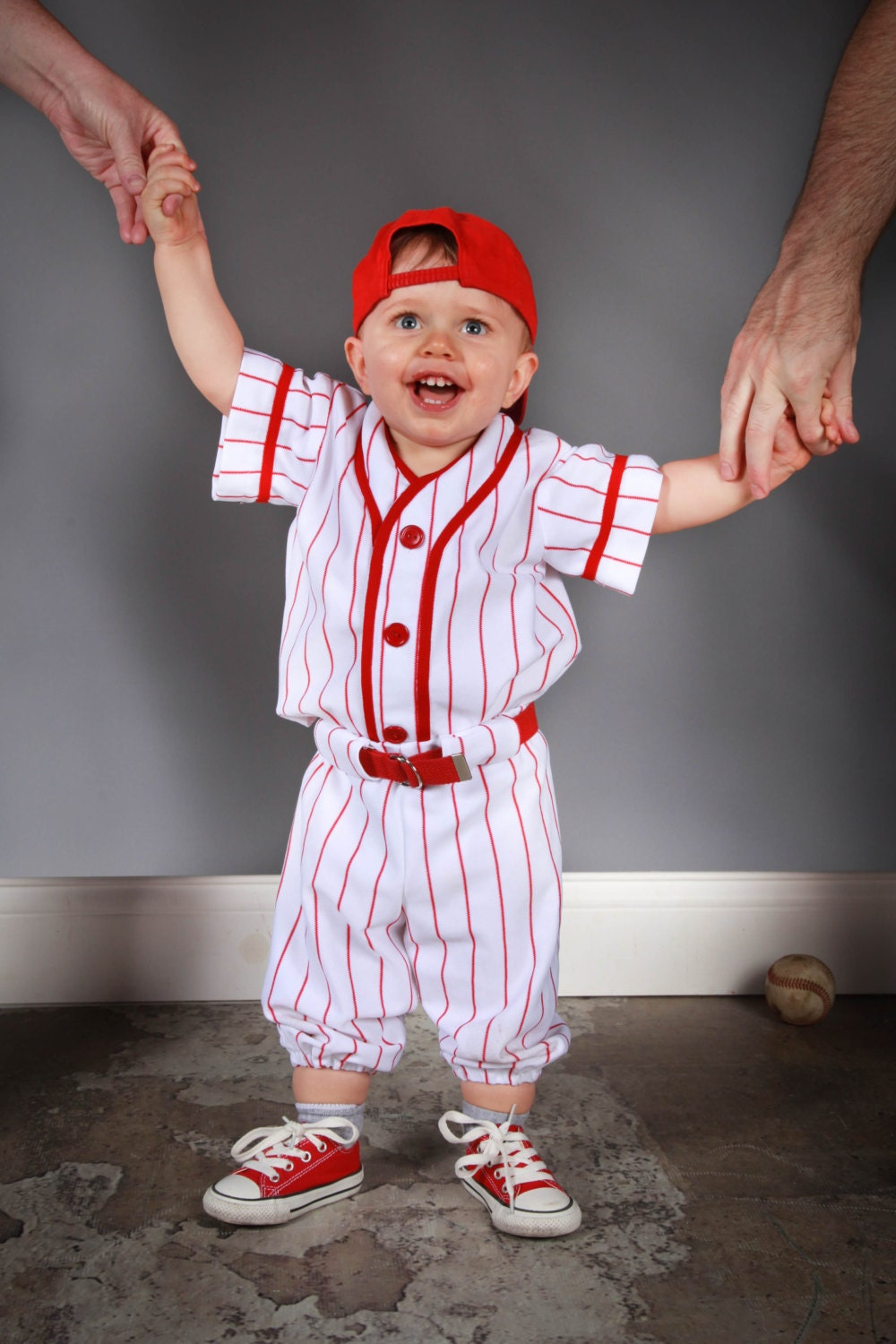 Baseball Uniforms for Photo Prop Or dress up 3 piece Made