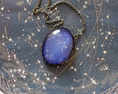 Sagittarius Zodiac Necklace. Sagittarius Constellation Necklace. Sagittarius Necklace. Zodiac Sign Necklace. Astronomy Zodiac Jewelry.