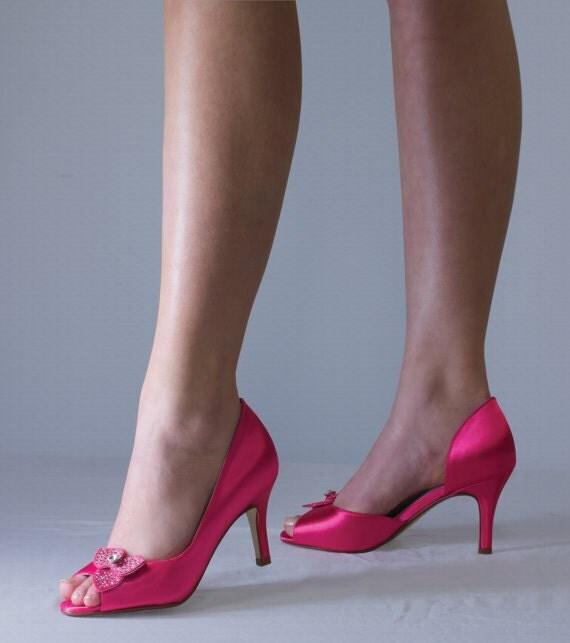 Fuschia Wedding Shoes: Items Similar To Fuschia Shoes