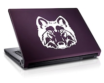 Classic Wolf Head Decal for Laptop Sticker for Car #106