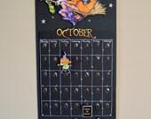 M J GIRLING Halloween Countdown digi stamp SET of 4