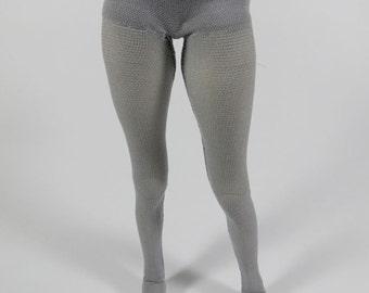 MSD SD BJD Leggings Gray Sparkle