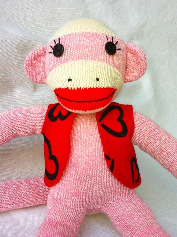 Valentino Little Pink Love Monkey