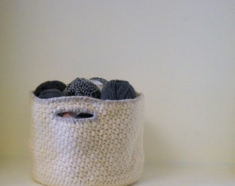 Kids LARGE Storage Basket - Wool Felt Basket - Ivory And Wheat, Wool, Fibers, Tidy Up, Storage, Organize, Felted Basket, Heirloom, Durable