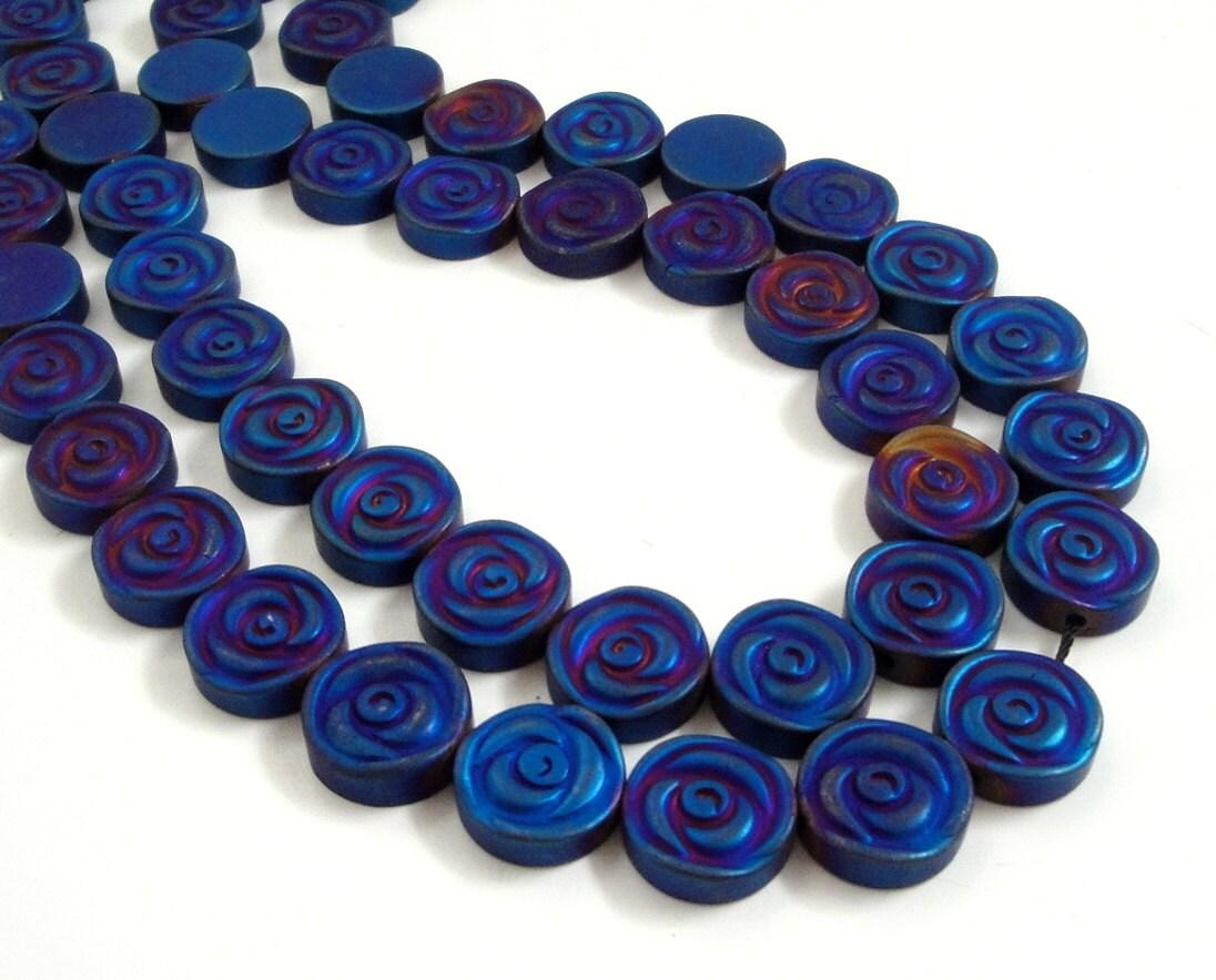 Hematite Beads 8mm (About 55 PCs)  |Hematite Beads