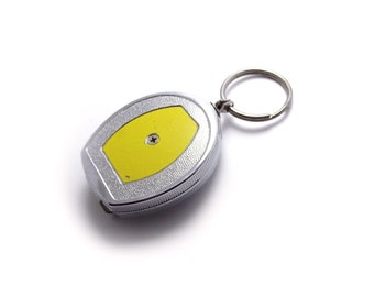 Cool Vintage Retractable Key Chain , Keychain, Yellow, Practical