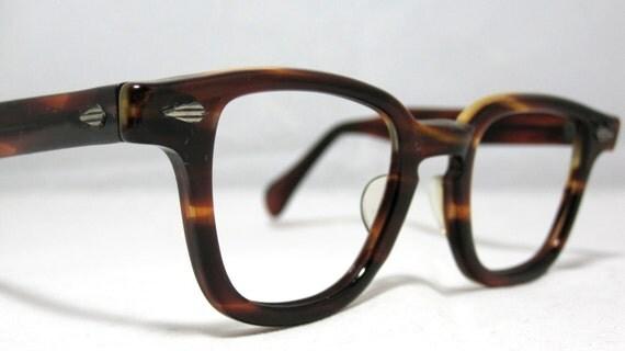 Eyeglass Frames Vintage Style : Vintage Mens Eyeglass Frames. Tart Arnel Johnny Depp Style in