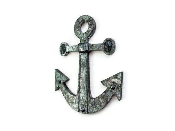 Anchor Wall Decor Nautical Wall Hanging For By Fischerfinearts
