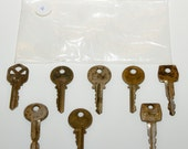 Assort Rustic Keys - Set of 8 - K4