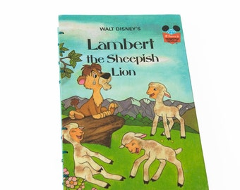 1977 SHEEPISH LION Vintage Notebook Journal