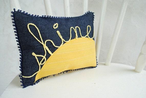 shine pillow.