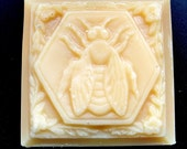 Oatmeal & Lavender Honey Goat Milk Soap - Handmade and All Natural Facial Treat