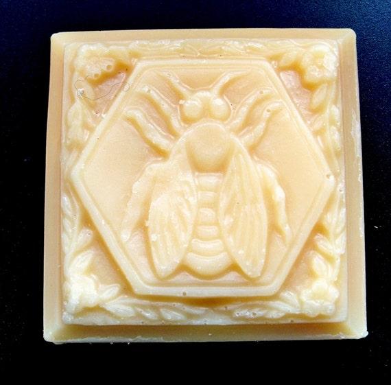 Oatmeal & Lavender Honey Goat Milk Soap Handmade by lavenderfarm