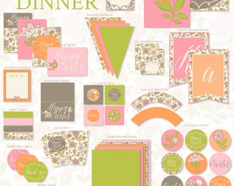 Easter PRINTABLE Dinner Party by Love The Day