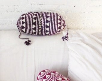 Pillow Crochet Marrakech  -   Purple  triangles
