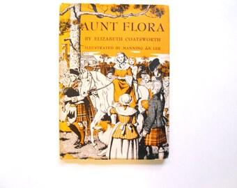 Aunt Flora, a Vintage Children's Book, 1953