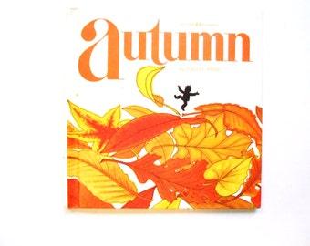 Autumn, a Vintage Children's Book