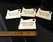 40 Oregon Wedding Favors Custom Engraved Portland Wedding