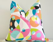 Geometric party pillow cover