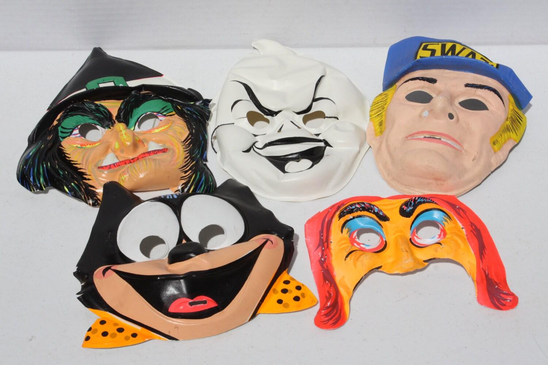 plastic vintage halloween