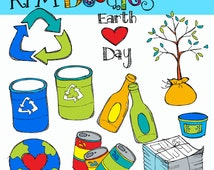 KPM Earth day Digital Clip art