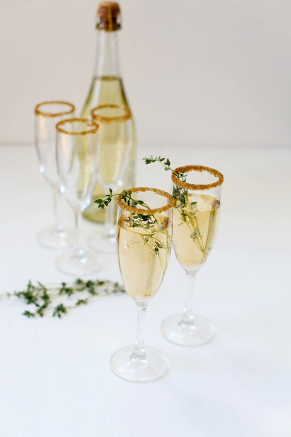 Edible Glitter For Champagne Glasses