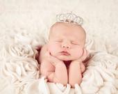 TODAY ONLY 21.99 crown, newborn tiara, Baby headband, newborn headband, adult headband, child headband and photography prop PRINCESS tiara