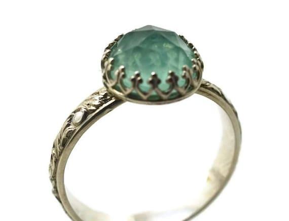 Fluorite Ring Handmade Engagement Ring Green Gemstone. Fabulous Engagement Rings. $30000 Wedding Rings. Cabochon Engagement Rings. Ring Day Rings. Wow Wedding Engagement Rings. 8mm Tungsten Engagement Rings. Shark Rings. Elegant Men Wedding Rings