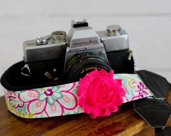 Camera Strap- Beautifully Bright