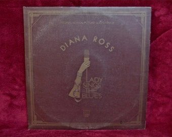 DIANA ROSS - Lady Sings the Blues...Original Motion Picture Soundtrack - 1972 Vintage Vinyl 2 lp Record Gatefold Album